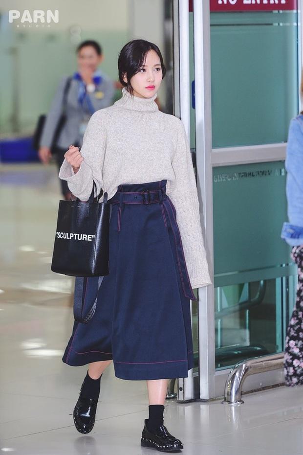 Quả đúng là tiểu thư gia thế khủng, Mina (TWICE) mặc toàn đồ đơn giản cũng tỏa khí chất lá ngọc cành vàng nhìn mà mê  - Ảnh 2.