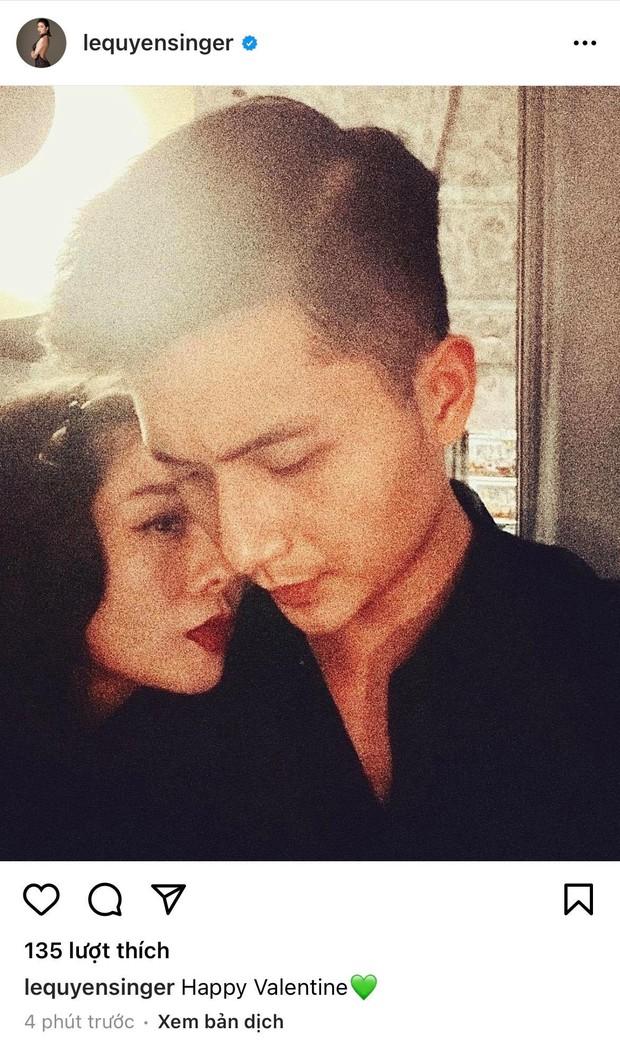 Đúng 0h ngày Valentine, Lệ Quyên tung ngay ảnh âu yếm tình trẻ kém 12 tuổi Lâm Bảo Châu và chàng đáp lại luôn - Ảnh 2.