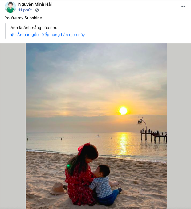 HOT: Đúng Valentine, bạn trai Hoà Minzy lần đầu công khai hình ảnh con trai đầu lòng, khoảnh khắc 2 mẹ con gây bão - Ảnh 2.