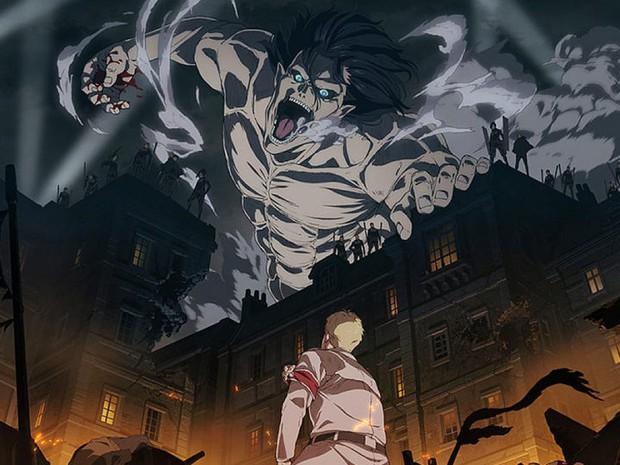 9 màn hi sinh xé lòng ở anime Attack on Titan: Mẹ nam chính bị vợ cũ của chồng nuốt chửng, thành viên cộm cán bị bắn chết vô lý! - Ảnh 1.