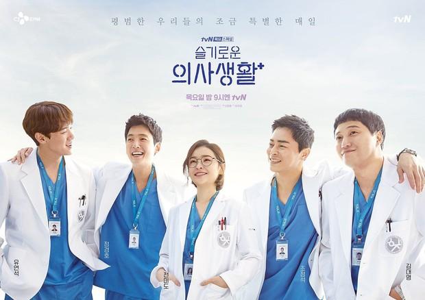 """6 phim Hàn """"healing"""" xoa dịu mọi tổn thương: Điên Thì Có Sao bao độc lạ, Hospital Playlist đỉnh thôi rồi! - Ảnh 1."""