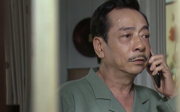 NSND Hoàng Dũng ở phim truyền hình đang lên sóng: Gầy đi trông thấy, nén đau để hoàn thành việc quảng bá - Ảnh 4.