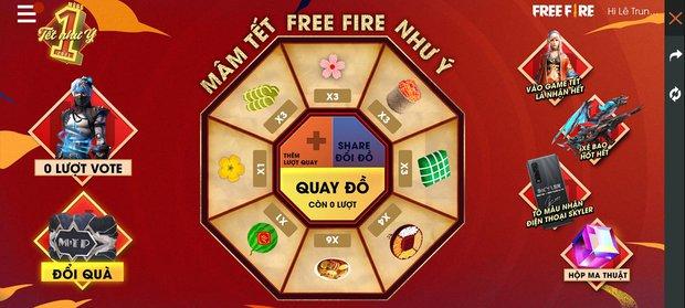 Free Fire: Game thủ cực hời với nhiều khuyến mãi khủng từ Garena, chỉ tốn 1 bao lì xì đã có thể sở hữu nhiều vật phẩm xịn - Ảnh 1.