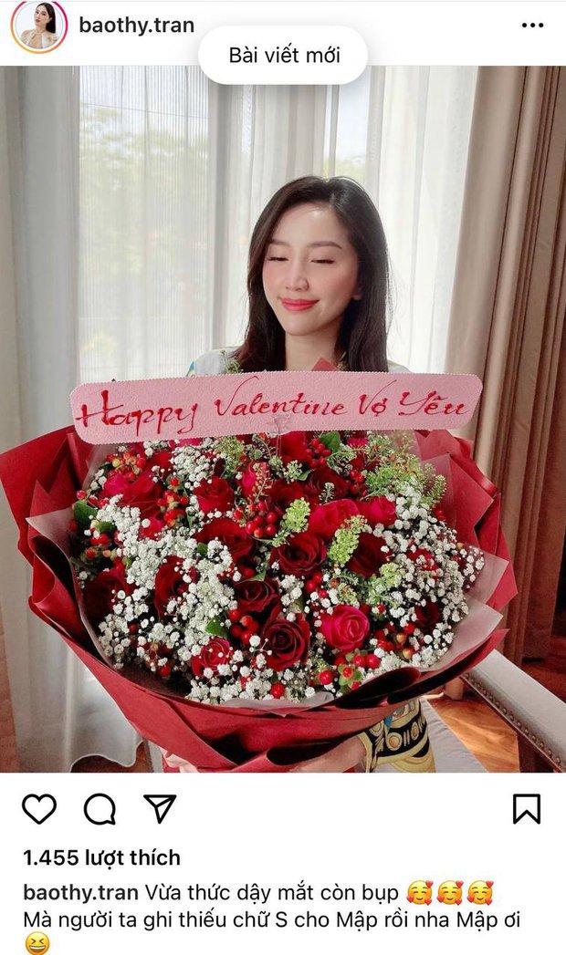 Sao Vbiz trong ngày Valentine 2021: Cẩu lương được thả khắp nơi, Bảo Thy, Thuý Ngân khoe quà lãng mạn, hội FA buồn bã vì cô đơn - Ảnh 5.