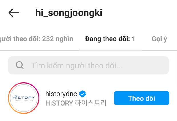 Song Joong Ki cuối cùng đã mở Instagram cá nhân, gây tò mò nhất là tài khoản duy nhất được follow - Ảnh 3.