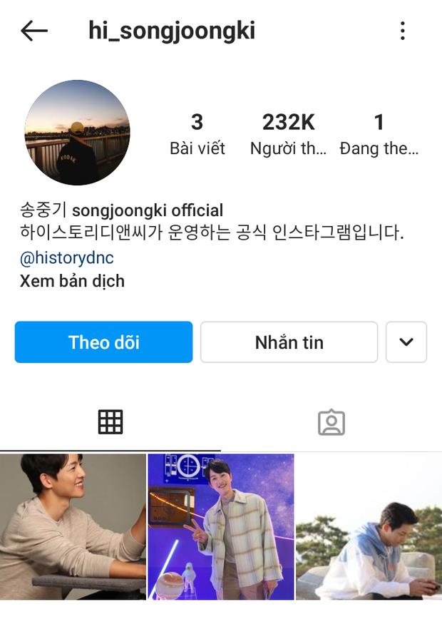 """Song Joong Ki và Song Hye Kyo đồng loạt có động thái ngày Valentine: Đàng trai vừa mở Instagram, đàng gái bỗng """"update"""" luôn? - Ảnh 3."""