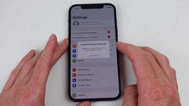 Đây là cách kiểm tra iPhone 12 của bạn đã bị thay camera hay chưa - Ảnh 4.