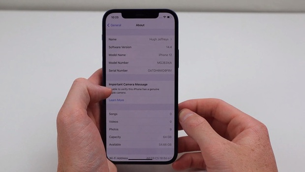 Đây là cách kiểm tra iPhone 12 của bạn đã bị thay camera hay chưa - Ảnh 5.