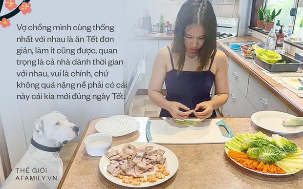 Chuyện đón Tết xứ người của cô dâu Việt lấy chồng Úc: Nhớ lắm hương vị quê nhà, bù lại được anh chồng Tây chạy đôn chạy đáo lo cho vợ cái Tết đầy đủ nhất - Ảnh 6.