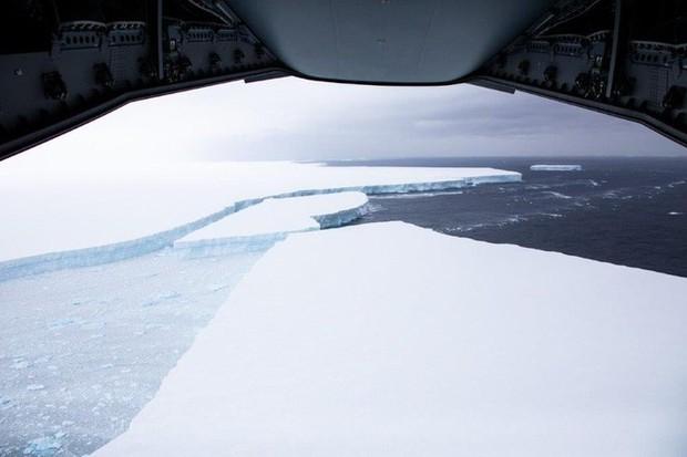 Thảm họa từ tảng băng trôi lớn nhất thế giới - Ảnh 7.