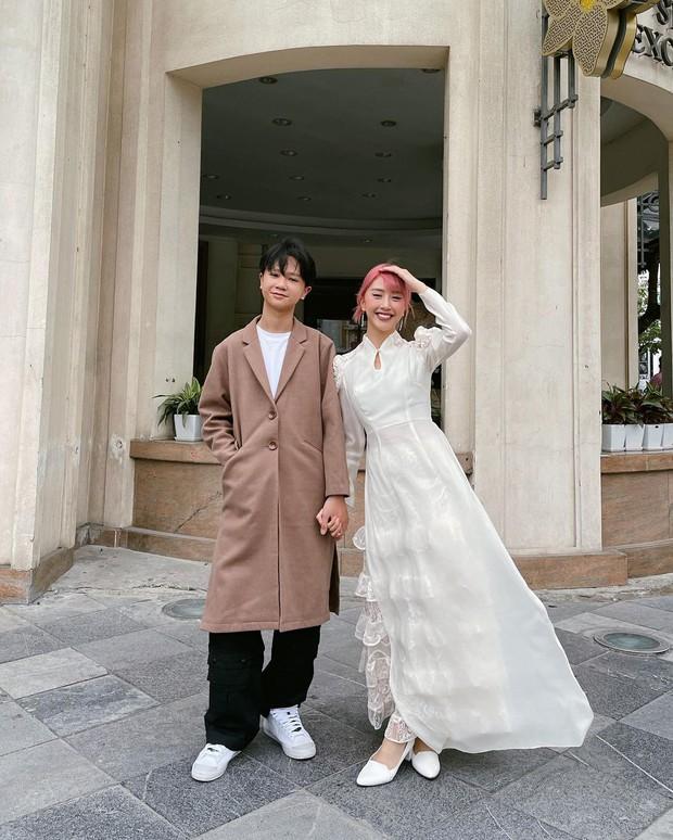 Chất nhất Tết này là nhà Quỳnh Anh Shyn, diện dresscode xuyên Tết như dự fashion week - Ảnh 4.