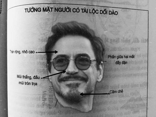 Netizen tức cười vì loạt ảnh xem tướng nhân vật Marvel: Iron Man cầm chắc tài lộc, Nhện nhọ lộ tùm lum bằng chứng thánh spoil? - Ảnh 1.