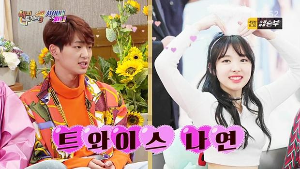 TWICE thu thập dàn hậu cung toàn nam thần Kpop: Jungkook (BTS) lộ hint với Nayeon, Kang Daniel - Heechul hẹn hò thành công - Ảnh 18.