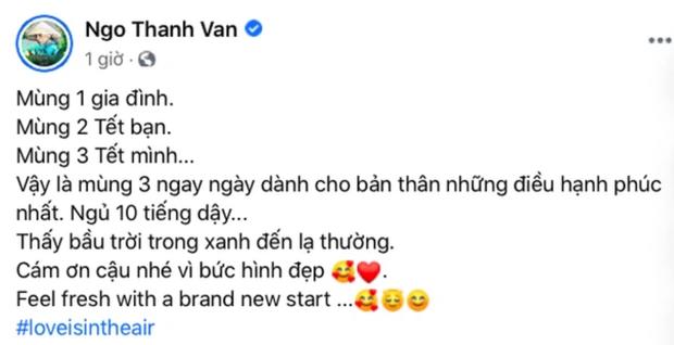 """Ngô Thanh Vân - Huy Trần mặc đồ ngủ đôi, vừa lộ chuyện hẹn hò đã """"khẳng định chủ quyền"""" ngay và luôn - Ảnh 6."""