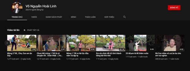 Không chỉ có thành tích khủng từ vũ trụ TikTok, nghệ sĩ Hoài Linh còn có kênh YouTube đạt hơn 7 triệu view chỉ sau 1 tuần ra mắt - Ảnh 2.