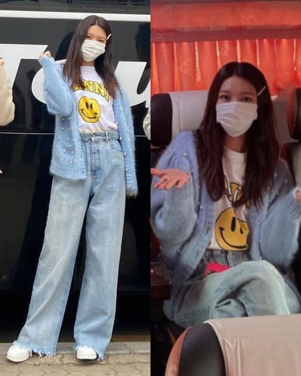 """Đụng áo cardigan 57 triệu đồng: Yoona """"bánh bèo"""" khi mix váy, Sooyoung đơn giản mà trẻ trung - Ảnh 3."""