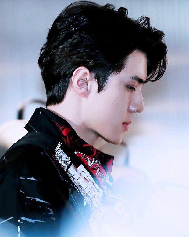 Top idol có sống mũi chơi cầu trượt đẹp nhất Kpop: V (BTS) được so với đồ họa, Sana và thành viên hụt BLACKPINK ai đỉnh hơn? - Ảnh 8.