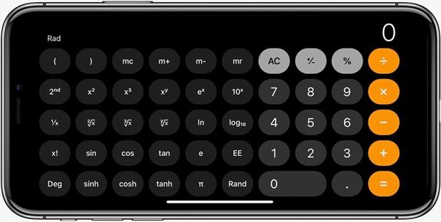 3 tính năng ẩn trên ứng dụng Máy tính của iPhone mà không phải ai cũng biết - Ảnh 1.