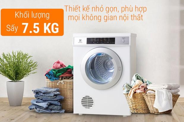 Máy sấy quần áo Electrolux tầm giá 8 - 9 triệu VNĐ: Ngoài nhược điểm bé xíu thì cực đáng sắm - Ảnh 3.