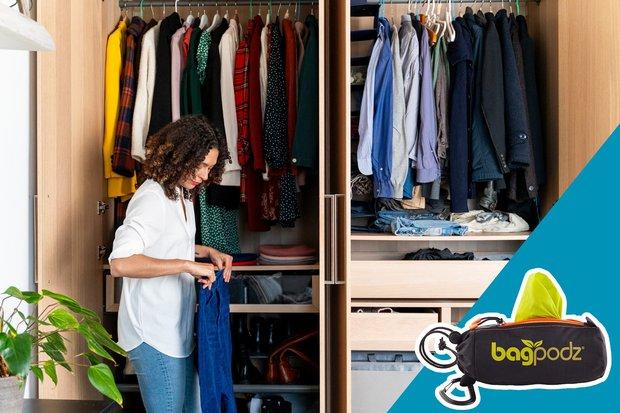 15 mẹo giúp tủ quần áo của bạn luôn gọn gàng, ngăn nắp và thời trang - Ảnh 13.