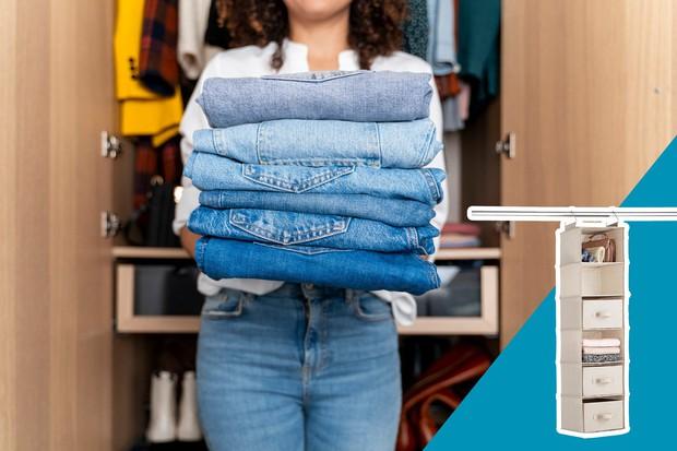 15 mẹo giúp tủ quần áo của bạn luôn gọn gàng, ngăn nắp và thời trang - Ảnh 5.