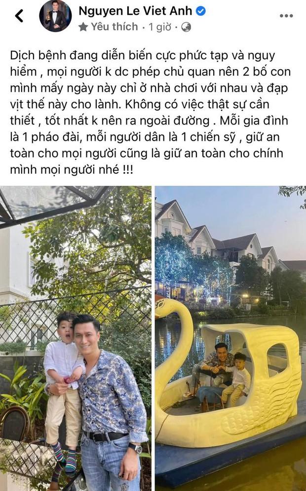Việt Anh đăng ảnh đưa con trai đi chơi, vợ cũ liền vào nhắc nhở một câu ẩn ý đậm chất 18+? - Ảnh 2.