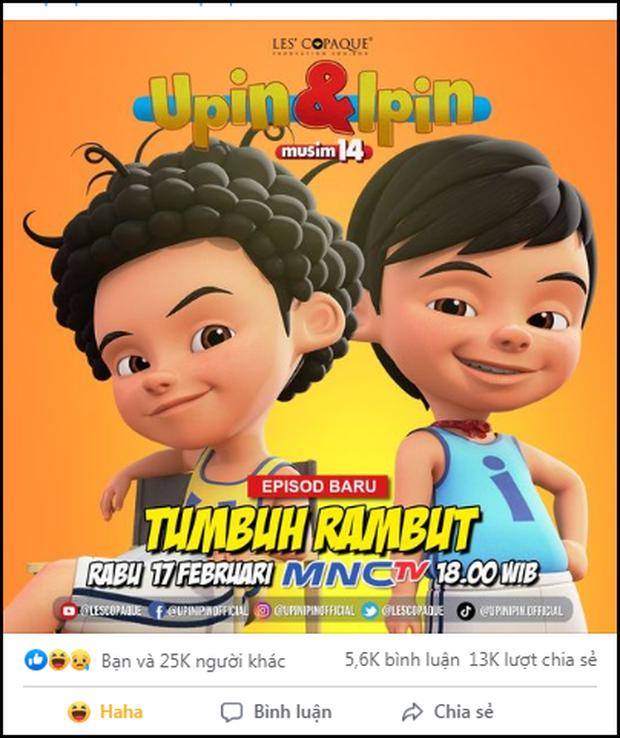 Upin và Ipin bất ngờ mọc tóc như tài tử ở tập phim mới sau 14 năm, từ fan đến dân làng đều xỉu ngang vì quá sốc! - Ảnh 7.