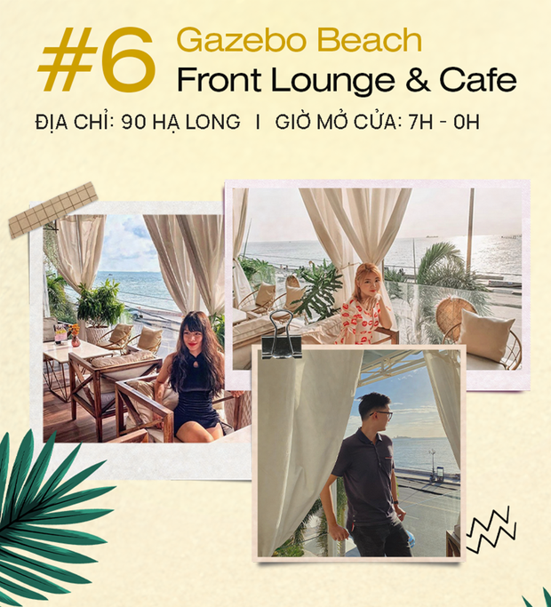 All 10 of the most beautiful virtual live cafes in Vung Tau, anyone who loves taking pictures with sea views must take note immediately!  Photo 7.