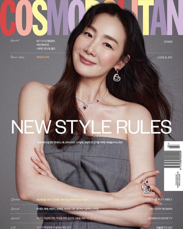 Choi Ji Woo trở lại ngoạn mục sau 9 tháng sinh, lần đầu chia sẻ về cuộc hôn nhân với CEO kém tuổi và con gái đầu lòng - Ảnh 2.