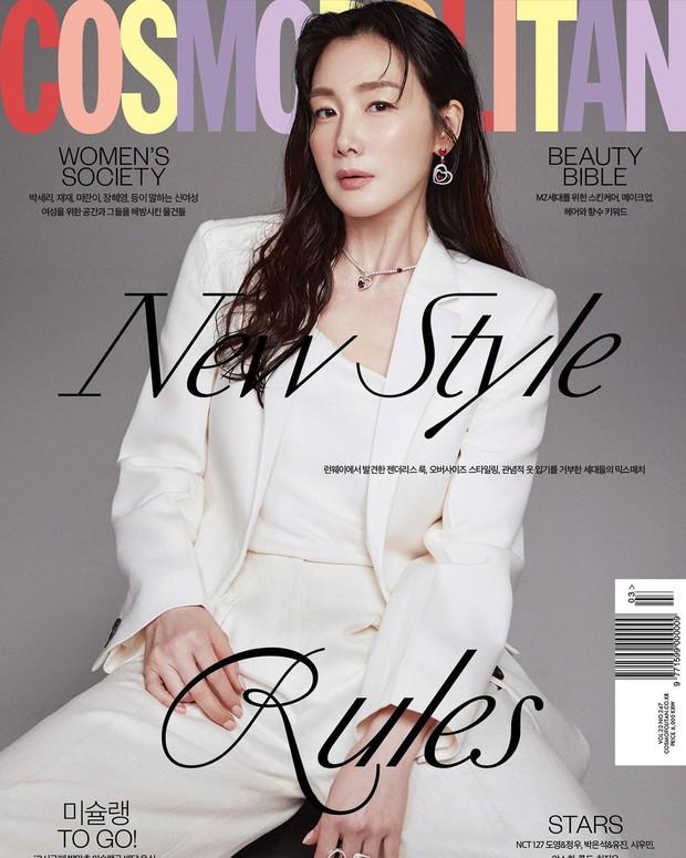 Choi Ji Woo trở lại ngoạn mục sau 9 tháng sinh, lần đầu chia sẻ về cuộc hôn nhân với CEO kém tuổi và con gái đầu lòng - Ảnh 5.