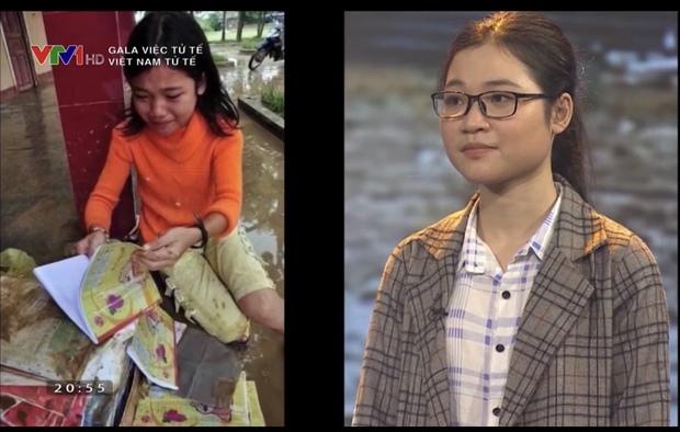 Sự thay đổi ngoạn mục của cô bé bật khóc nức nở khi nhìn sách vở ướt nhẹp trong dòng nước lũ cách đây 10 năm - Ảnh 2.