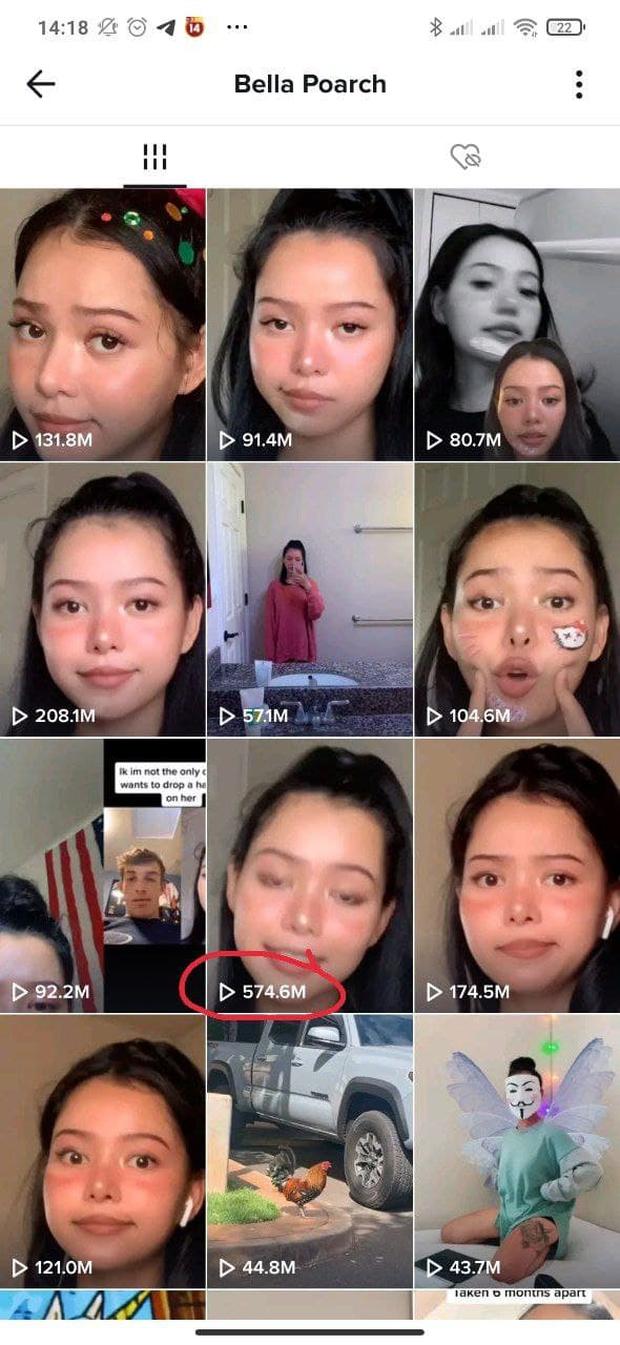 Cô gái 2k1 người Mỹ bị mắc chứng trầm cảm, sở hữu tài khoản hơn 56 triệu follow TikTok và gần 10 triệu theo dõi trên Instagram - Ảnh 3.