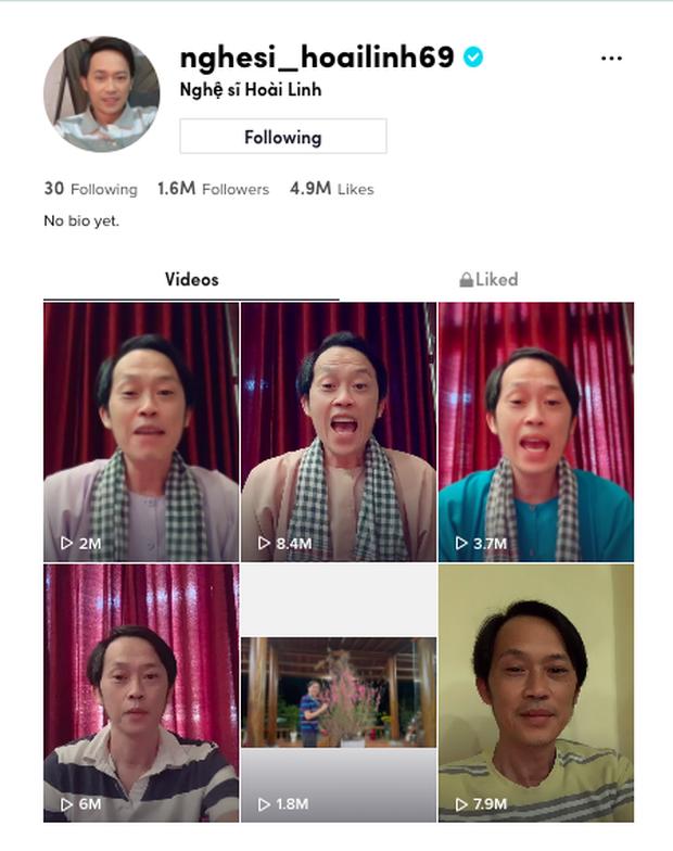 NSƯT Hoài Linh bấm follow 30 người trên TikTok, có 3 ca sĩ: Noo Phước Thịnh, Hòa Minzy và 1 rapper gây bất ngờ? - Ảnh 2.