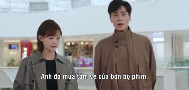 Nữ chính Cá Mực Hầm Mật 2 chấp nhận làm bạn gái Hồ Nhất Thiên, được anh hôn lết môi từ ngoài đường vô tủ quần áo - Ảnh 4.