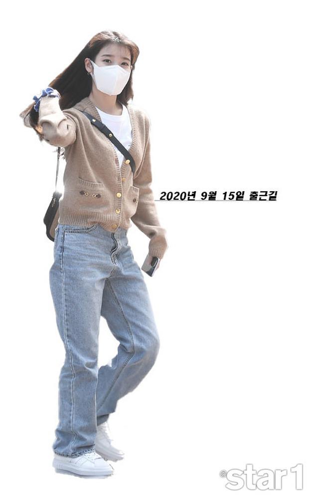 """Không hổ danh là """"em gái quốc dân"""", thời trang sân bay của IU trẻ trung, xinh sang và đáng học hỏi cực kỳ - Ảnh 10."""
