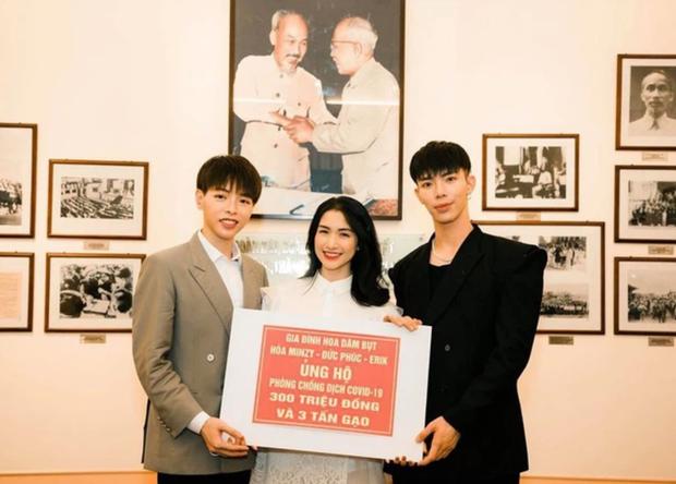 Ủng hộ 50 triệu đồng cho Hải Dương chống dịch, Hoà Minzy xin khán giả thông cảm vì một lý do - Ảnh 3.