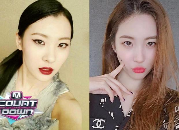 """4 idol nhan sắc """"lên hương"""" nhờ thay đổi đường chân tóc: Yoona, Suzy như nữ thần nhưng màn lột xác của Sunmi mới đỉnh - Ảnh 10."""