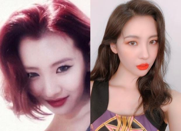 """4 idol nhan sắc """"lên hương"""" nhờ thay đổi đường chân tóc: Yoona, Suzy như nữ thần nhưng màn lột xác của Sunmi mới đỉnh - Ảnh 11."""