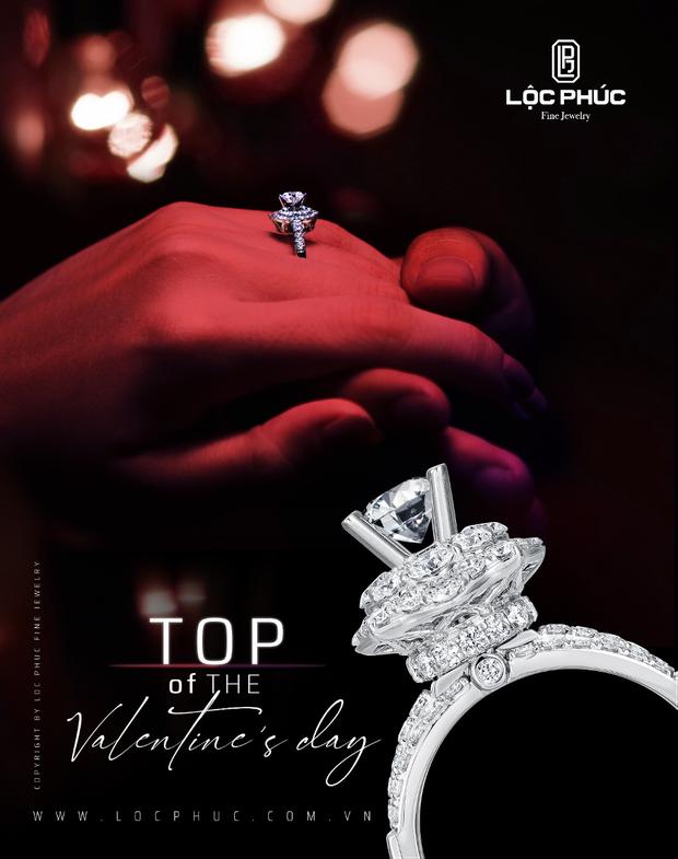 Valentine - Lời yêu ngọt ngào đến từ trang sức Lộc Phúc - Ảnh 5.