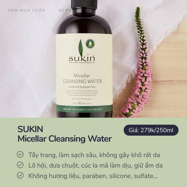 5 micellar water hot hit vừa làm sạch vừa dưỡng da đẹp mướt, có loại đang sale giá siêu tốt - Ảnh 6.