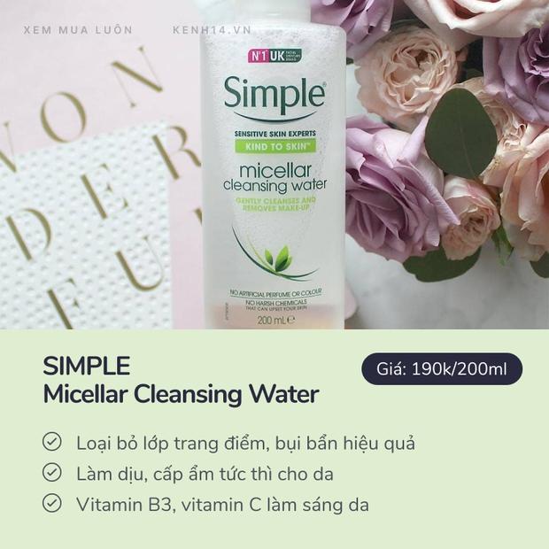 5 micellar water hot hit vừa làm sạch vừa dưỡng da đẹp mướt, có loại đang sale giá siêu tốt - Ảnh 8.
