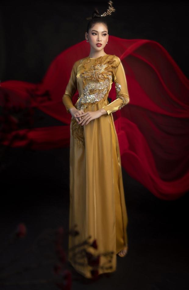 Phác thảo quốc phục Á hậu Ngọc Thảo mang đi chiến tại Miss Grand International, 1 bộ gây tranh cãi vì phá cách quá đà - Ảnh 5.