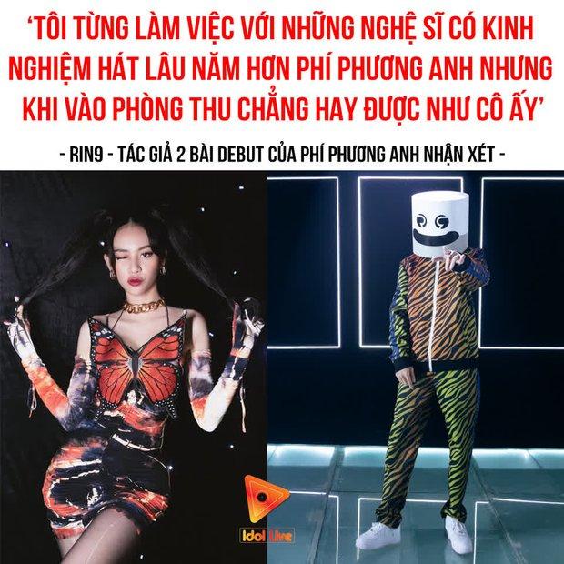 Netizen phẫn nộ khi RIN9 khen Phí Phương Anh hát trong phòng thu hay hơn nhiều ca sĩ lâu năm: Mèo khen mèo dài đuôi - Ảnh 5.