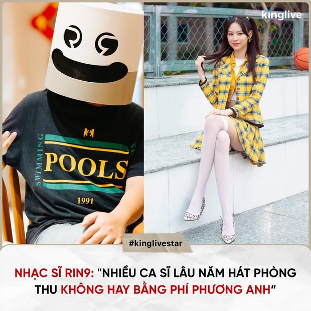 Netizen phẫn nộ khi RIN9 khen Phí Phương Anh hát trong phòng thu hay hơn nhiều ca sĩ lâu năm: Mèo khen mèo dài đuôi - Ảnh 6.