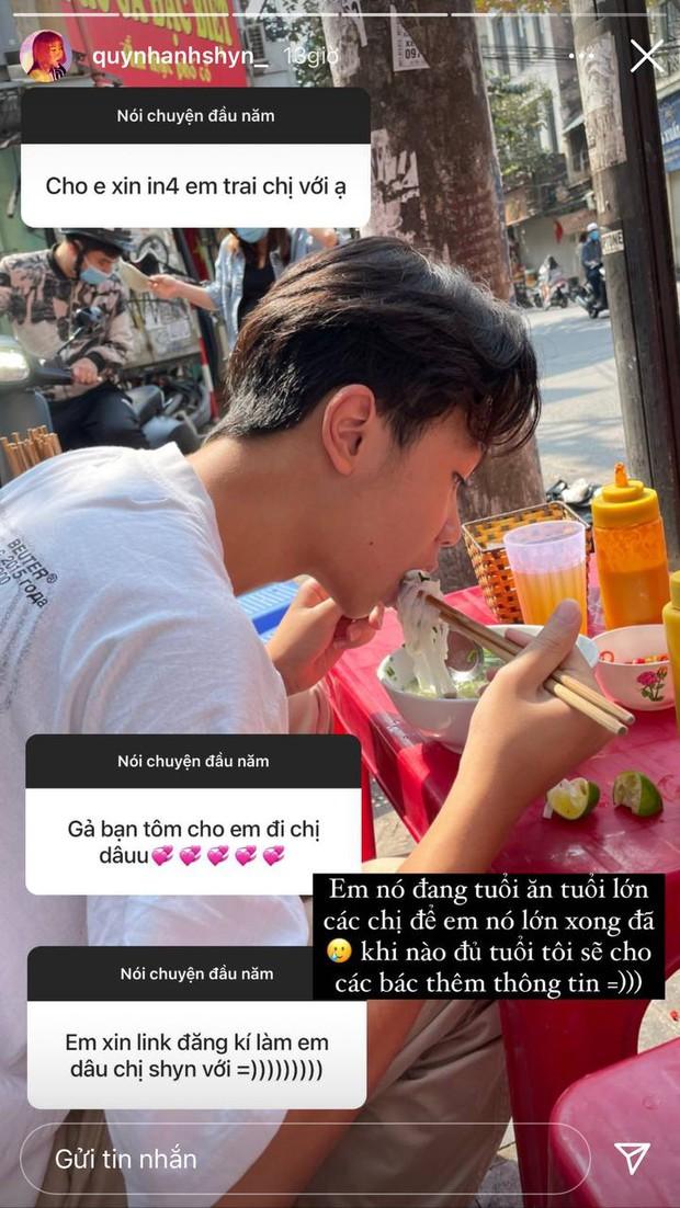 Em trai sinh năm 2007 của Quỳnh Anh Shyn được netizen đặt gạch tới tấp, hot girl phải vội từ chối vì chưa muốn lên chức chị dâu  - Ảnh 2.