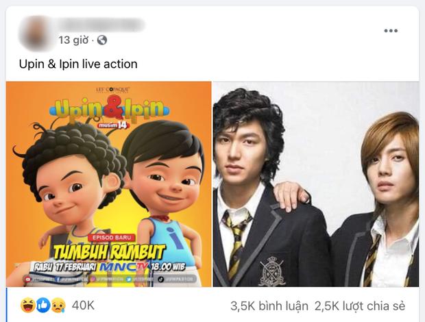 Netizen Việt phát hiện mái tóc gây sốt của Upin và Ipin lại giống... Vườn Sao Băng như 2 giọt nước, lý do của bộ tóc mới là gì? - Ảnh 3.