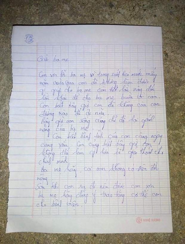 Nam thanh niên lên cầu Thuận Phước để lại thư tuyệt mệnh cho bố mẹ và người yêu rồi... lên chùa - Ảnh 1.