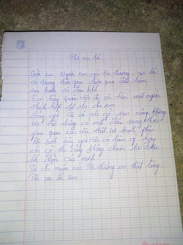 Nam thanh niên lên cầu Thuận Phước để lại thư tuyệt mệnh cho bố mẹ và người yêu rồi... lên chùa - Ảnh 2.
