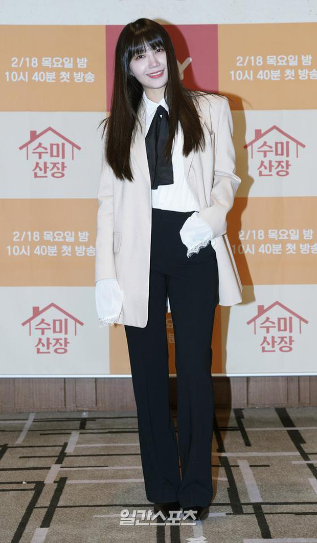 2 idol Kpop chiếm spotlight ở sự kiện: Tá hoả vì mặt trắng phớ của Eunji (Apink), Hani (EXID) khoe chân ai dè nổi gân kém xinh - Ảnh 6.