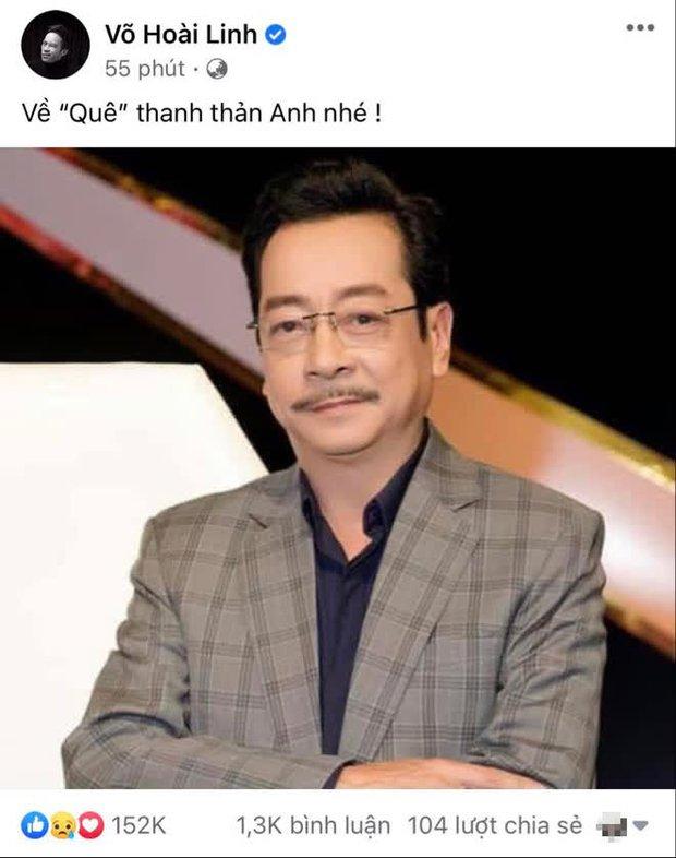 Việt Anh thông báo thay đổi thời gian viếng NSND Hoàng Dũng, NS Hoài Linh gửi lời tiễn biệt gây xúc động - Ảnh 3.
